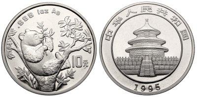 China Panda Münzen verkaufen