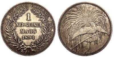 Münzen verkaufen aus Neu-Guinea