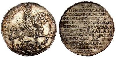 Taler Vikariat Sachsen - Münzen Altdeutschland verkaufen