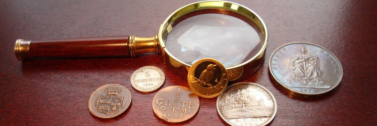 Bewertung von Münzen