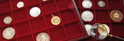 Münzen sammeln
