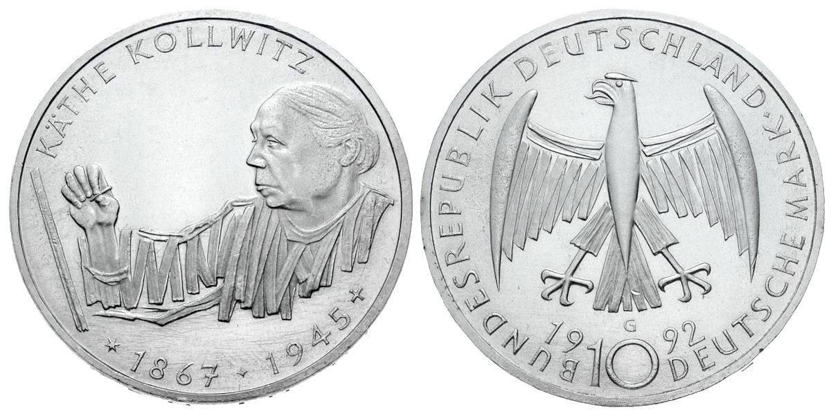 10 Dm Münzen Wert 1992 Ausreise Info