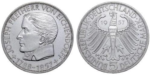 5-dm-brd-freiherr-von-eichendorff-1957-st