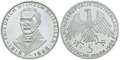 5-dm-brd-friedrich-wilhelm-raiffeisen-1968-st