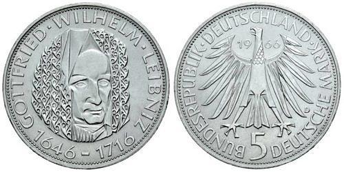 5-dm-brd-gottfried-wilhelm-leibniz-1966-st