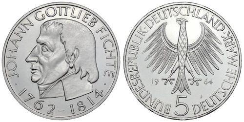 5-dm-brd-johann-gottlieb-fichte-1964-st