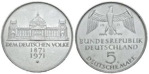 5-dm-brd-reichsgruendung-1971-st