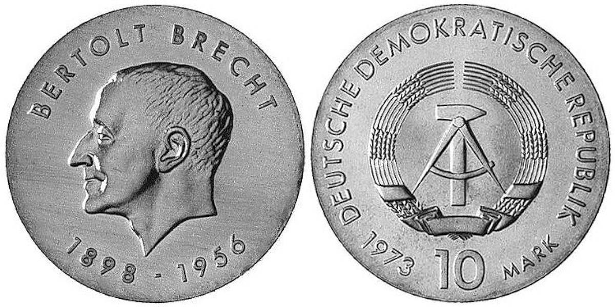 Bertolt Brecht Ddr