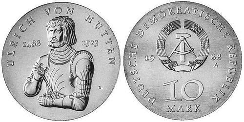 10-mark-ddr-ulrich-von-hutten-1988