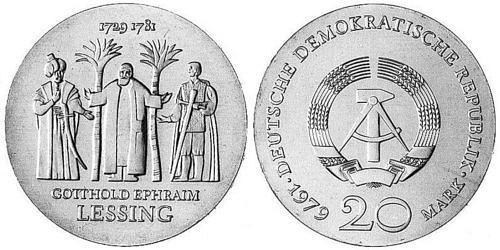 20-mark-ddr-gotthold-ephraim-lessing-1979