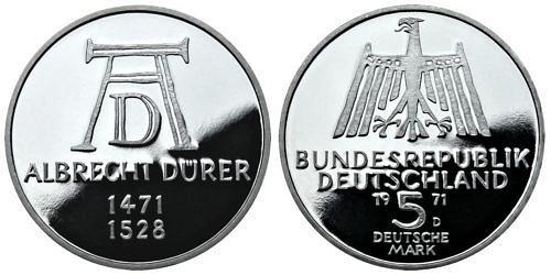 5-dm-brd-albrecht-duerer-1971-pp