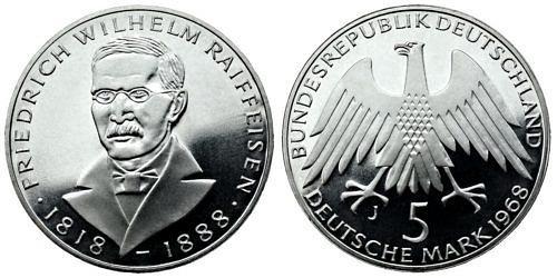5-dm-brd-friedrich-wilhelm-raiffeisen-1968-pp