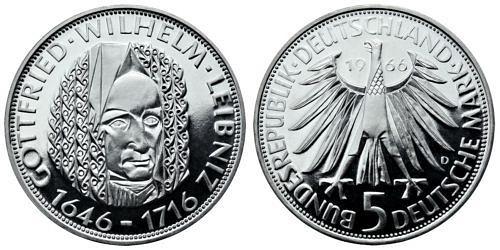 5-dm-brd-gottfried-wilhelm-leibniz-1966-pp