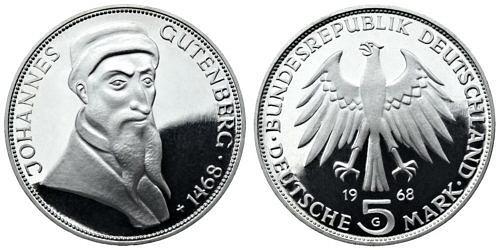 5-dm-brd-johannes-gutenberg-1968-pp