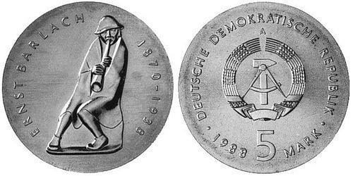 5-mark-ddr-ernst-barlach-1988