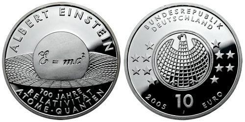 10-euro-100-jahre-relativitaetstheorie-brd-2004-pp