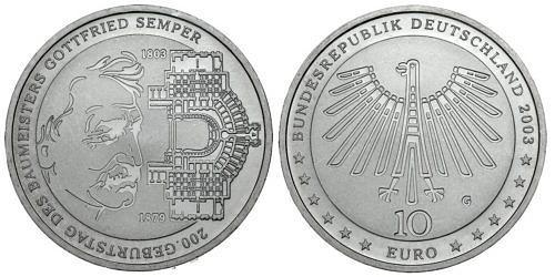 10-euro-gottfried-semper-brd-2003-st