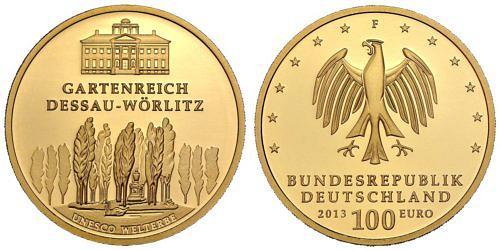 100-euro-unesco-welterbe-gartenreich-dessau-woerlitz-brd-2013-st