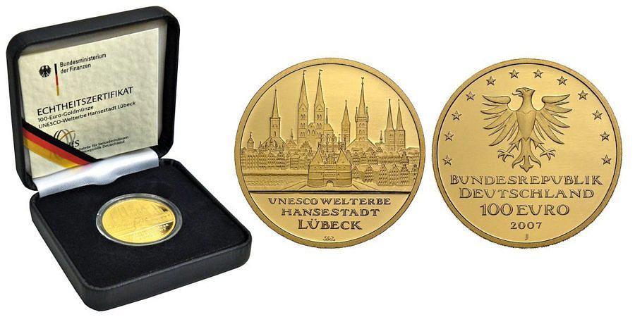 100-euro-unesco-welterbe-hansestadt-luebeck-brd-2007-st-etui