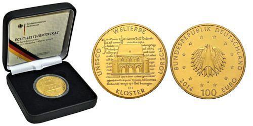 100-euro-unesco-welterbe-kloster-lorsch-brd-2014-st-etui