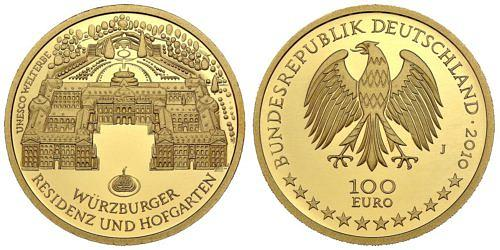 100-euro-unesco-welterbe-wuerzburger-residenz-und-hofgarten-brd-2010-st
