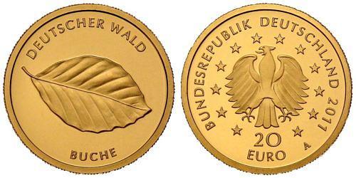 20-euro-gold-deutscher-wald-buche-brd-2011-st