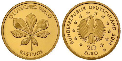 20-euro-gold-deutscher-wald-kastanie-brd-2014-st