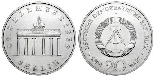 20-mark-ddr-oeffnung-brandenburger-tor-1990-silber
