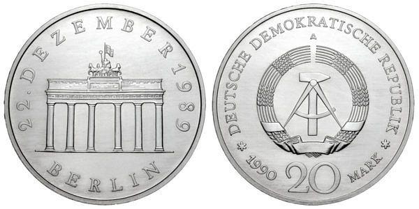 20 Mark Münzen Ddr Hier Im Shop Muenzenladende