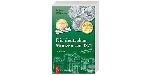 Kurt-jaeger-die-deutschen-muenzen-seit-1871-25-auflage