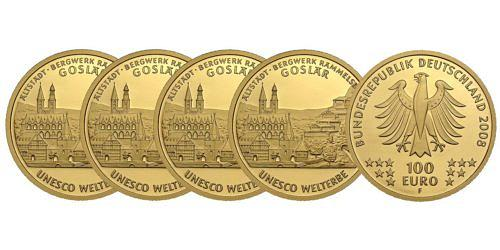 Satz-100-euro-unesco-welterbe-altstadt-goslar-bergwerk-rammelsberg-brd-2008-st