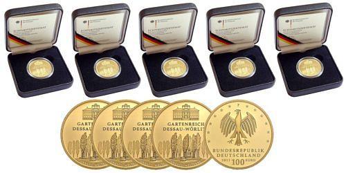 Satz-100-euro-unesco-welterbe-gartenreich-dessau-woerlitz-brd-2013-st-etui