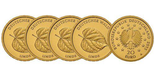 Satz-20-euro-gold-deutscher-wald-linde-brd-2015-st