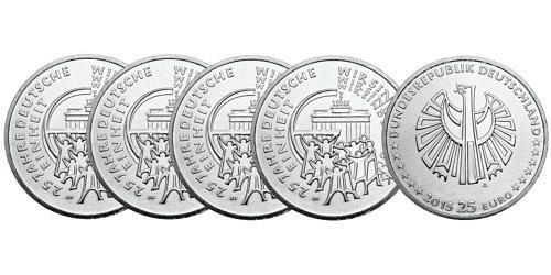 Satz-25-euro-25-jahre-deutsche-einheit-brd-2015-st