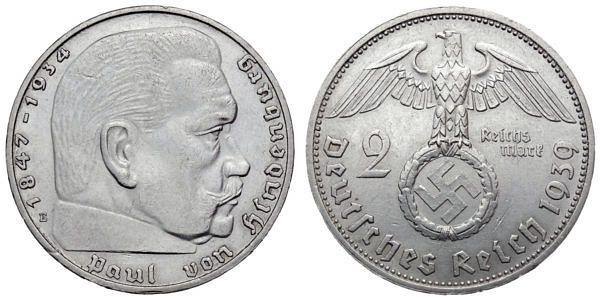 Münzen Drittes Reich Hier Im Shop Muenzenladende
