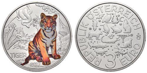 3-euro-oesterreich-tiertaler-tiger-2017