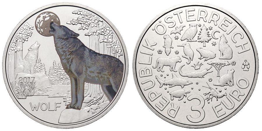 3-euro-oesterreich-tiertaler-wolf-2017