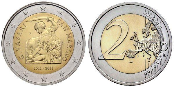 2 Euro Münzen Aus San Marino Hier Im Shop Muenzenladende