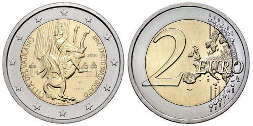 2-euro-paulusjahr-vatikan-2008-st-1