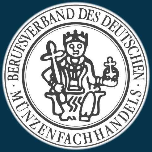 Wir sind Mitglied im Berufsverband des Deutschen Münzenfachhandels.
