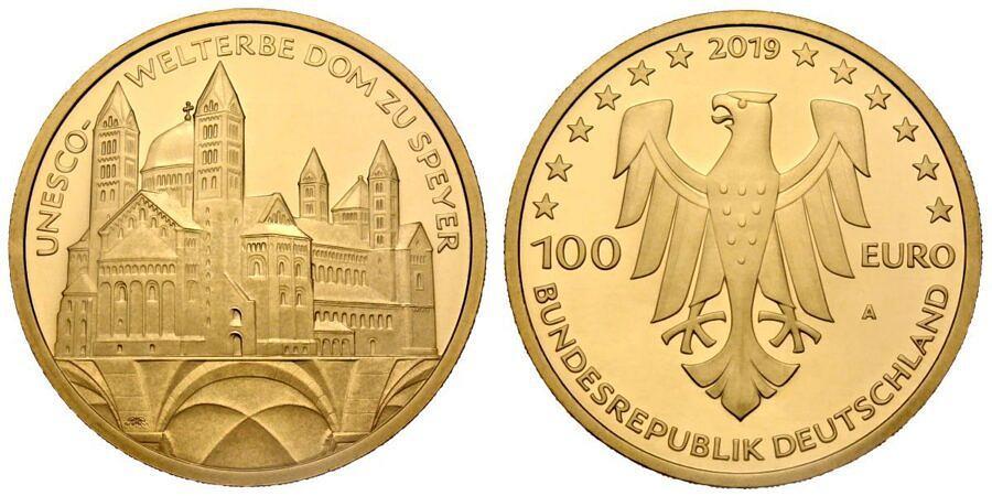 100-euro-unesco-welterbe-dom-zu-speyer-brd-2019-st