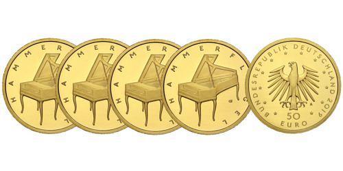 Satz-50-euro-gold-hammerfluegel-brd-2019-st