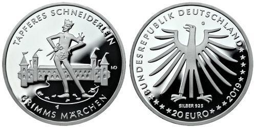 20-euro-grimms-maerchen-tapferes-schneiderlein-brd-2019-pp-var1