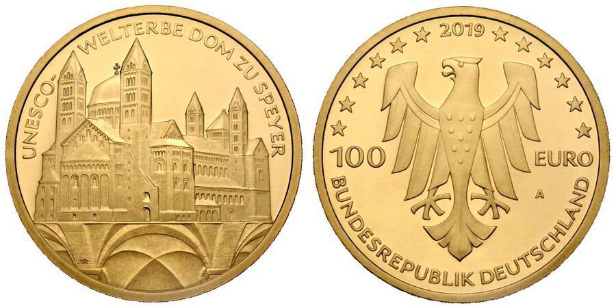 100-euro-unesco-welterbe-dom-zu-speyer-brd-2019-st-var1