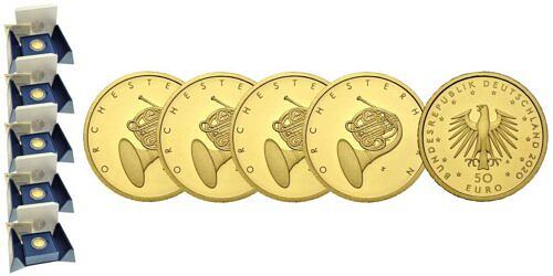 Satz-50-euro-gold-orchesterhorn-brd-2020-st-var2