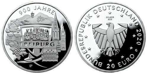 20-euro-900-jahre-freiburg-brd-2020-pp